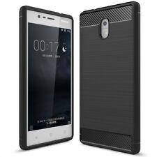 Nokia 3 Handy Hülle von NALIA, Dünnes TPU Silikon Cover Case Gummi Schutz Bumper