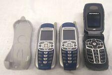 2ea Motorola i265 1ea i560 Nextel Phone lot