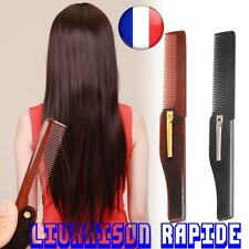 Comb Foldable Hair Beard Moustache Clip Pocket Styling Hairstyle Man Woman