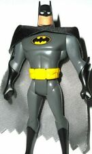BATMAN animated series BATMAN mattel classic grey suit yellow emblem belt silver