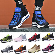 Men's Sports Shoes Athletic Air Cushion Sneakers Outdoor Running Tennis Trainers