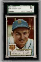 1952 Topps Baseball #246 George Kell - SGC 5.5 EX+