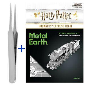 Fascination Metal Earth Hogwarts Express Train Harry Potter w/ FREE TWEEZERS!
