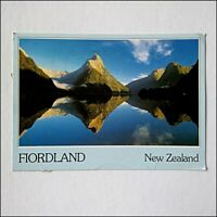 Fiordland New Zealand Mitre Peak Milford Sound 1992 Postcard (P402)