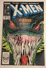 Marvel Comics Uncanny X-Men #232 1st Appearance Brood Mutants 1988