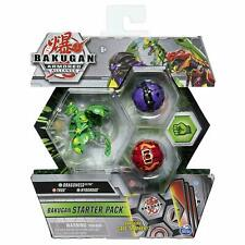Bakugan Armored Alliance, Dragonoid-Trox-Hydorous, Starter Pack 3-Pack NEW!!!