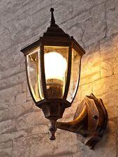 Aussenleuchte Wandlampe in antik-gold Beleuchtung Garten Aussenbeleuchtung Hof