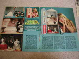 VINTAGE WOMAN'S WEEKLY VICTORIAN DOLL'S HOUSE INSTRUCTIONS - 1976?