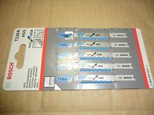 Bosch Jigsaw Blades Basic For Metal T118A HSS x5 2608631013