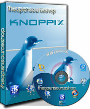 Knoppix Linux 7.7.1 Live/Install Bootable (Startup) DVD + Free Random Retro CD