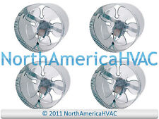 """4x 10"""" Round In-Line Air Duct Booster Fan 115 Volt T9-MCM10 T9-DB10 DB10 650 CFM"""