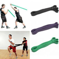 Strong Resistance Bands Set Single Loop for fitness Gym Exercise Pull up yoga UK