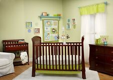 Taggies 'Fun in the Jungle Collection' Baby Nursery 3-Piece Crib Bedding Set NEW