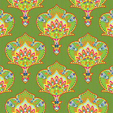 20 Lunch Paper Napkins INDIA STYLE GREEN Decoupage EthnicPattern Decoration