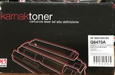 Toner KARNAK Q6470A per HP 3600/3800 BK, cartuccia laser ad alta definizione