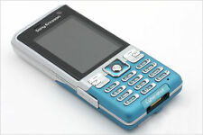 Sony Ericsson C702 Stick / Candy Bar Blue Cell Phone GPS Free Shipping