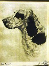 Bert Cobb Raymond Hoagland English Setter 1931 Print Matted