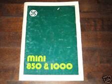 Betriebsanleitung Mini 850 + 1000