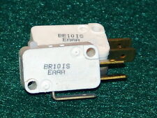 (2) MICROSWITCHES-125/250VAC /10 AMP/ 1/2 hp/ NO NC COM /Vabsco /snap switch/D42