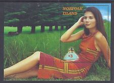 2001 NORFOLK ISLAND PERFUME MINI SHEET FINE MINT MNH/MUH