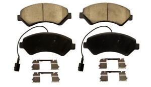 FRONT 1842 CERAMIC PADS WITH HARDWARE KIT FITS RAM PROMASTER 2500,3500 2016-2021