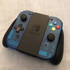 Nintendo Switch Joy Con Controller PAIR CUSTOM COLOUR with D-PAD - OCEAN BLUE