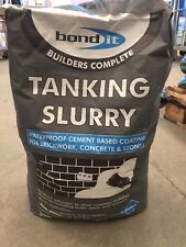 Bond it Tanking Slurry Grey 20kg Water proofer damp proofing brickwork Render