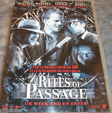Rites of passage Un week end en enfer CHRISTIAN SLATER DVD