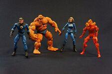 """Marvel Legends Showdown Fantastic Four Lot ToyBiz Loose Action Figure 4"""""""