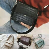 Fashion Womens Girl Lady Trend Large Capacity Leather Shoulder Bag Messenger Bag
