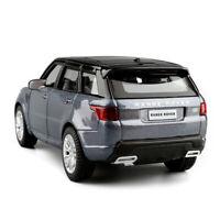 Range Rover Sport SUV 1:36 Die Cast Modellauto Spielzeug Kinder Pull Back Blau