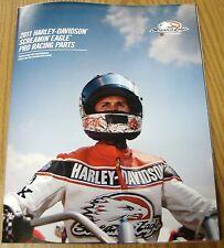 2011 HARLEY DAVIDSON SCREAMIN' EAGLE PRO RACING PARTS CATALOG BROCHURE BOOK