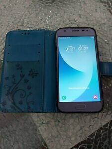 Samsung Galaxy J3 SM-J330F 16GB Blau (Ohne Simlock) Smartphone (Duos 2017)