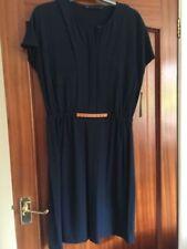 Zara Viscose Dresses for Women with Belt