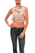 Jardín para mujer los mosquitos Free People superior Nude neautral TALLA XS RRP £ 69 BCF84