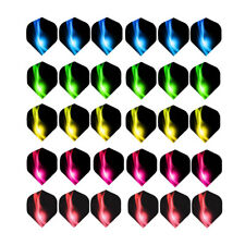60PCS Darts Flights Wing Mixed Style for Professional Darts Outdoor Game Sports