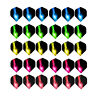 60Pcs Popular Pattern Dart Nice Flights Set for Professional Darts Wing Tail