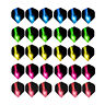 60PCS Dart Flights Wing Mixed Style for Professional Darts Tail Outdoor Sports