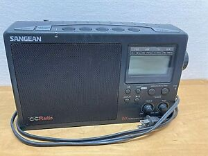 Sangean CC Radio WX AM FM TV Weather 4 Band PLL Synthesized Receiver