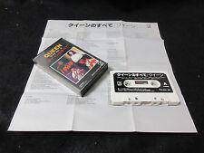 Queen Best 16 Japan Cassette Tape in 1978 Freddie Mercury Brian May