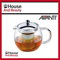 NEW Avanti Ceylon Glass Teapot 750ml Free Postage ! (RRP $50)