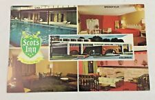Vintage Postcard Scot's Inn Columbus Ohio
