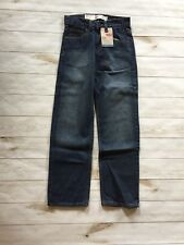 Levi's Boy's 550 Relaxed Fit Jeans Size 12 Slim Blue 24 x 26 New