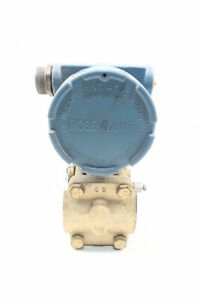 Rosemount 1151GP0E12D3 Gage Pressure Transmitter 0-3000psi 45v-dc