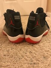 2019 JORDAN BRED 11 SIZE 7.5 378037-061 NO RESERVE!! Comes With Replacement Box