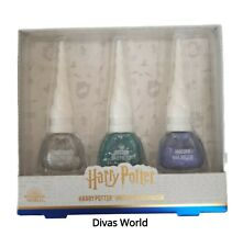 Harry Potter Nail Polish Unicorn Sparkly Glitter 3x 8ml Gift Set Brand New Box