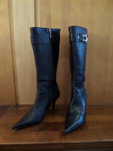 Dior Black long boot sz42 Uk9 Brand new / Bottes Noire Dior sz42 Uk9 neuves