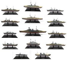 Set von 10 Schlachtschiffe Deutsches Reich Kriegsmarine WW2-1:1250 WSL6