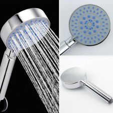 High Turbo Pressure Shower Head Bathroom Powerful Energy Water Saving Filter New