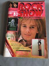Rock Show Magazine #3 March 1979 KISS Cheap Trick